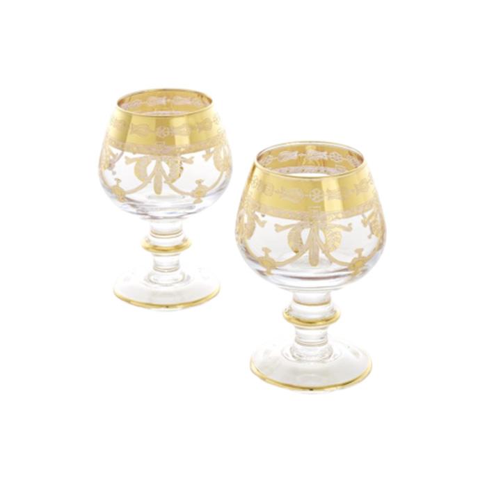 【SAME/セイム】グラス2Pセット クリア/ゴールド