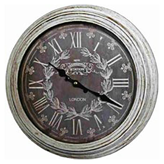 掛時計・シャビーウッド