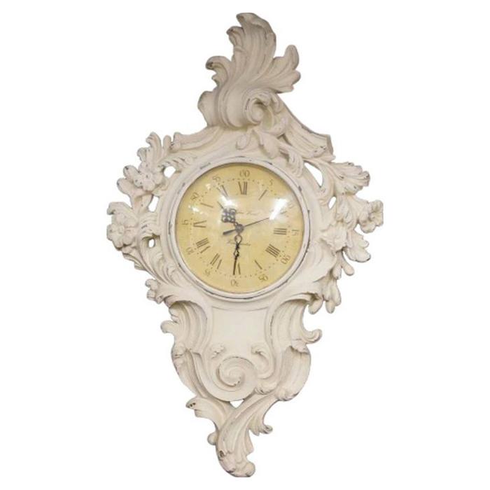 壁掛時計・アンティークホワイト