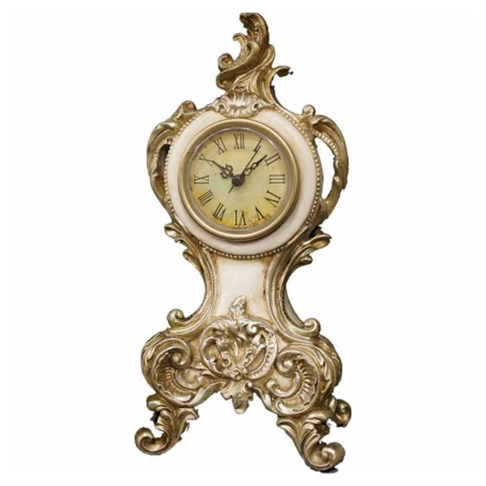 時計・アイボリーゴールド