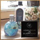 除菌ができるフレグランスランプ<br /> Ashleigh & Burwood/アシュレイ&バーウッド