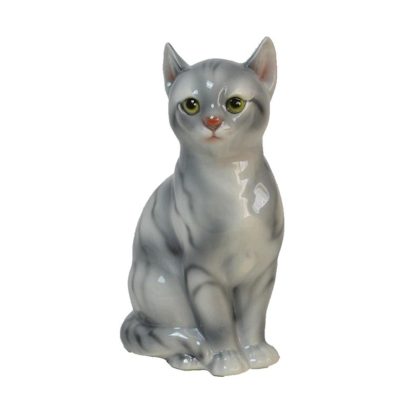 イタリア製陶器アニマル ネコ(8)