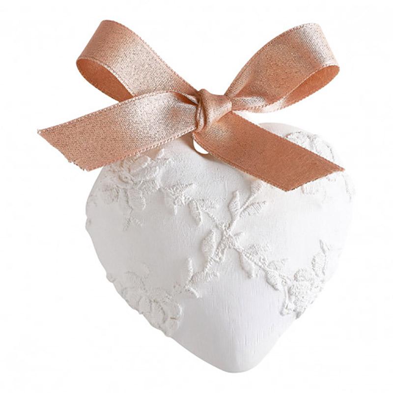 【Mathilde M./マチルドエム】センティッドデコ 刺繍ハート(大) 香り:ローズエリクサー