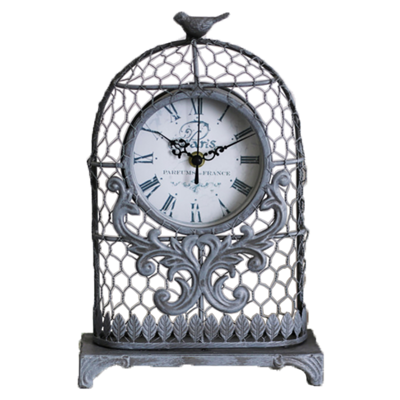 【Mathilde M./マチルドエム】バードゲージ(鳥かご)型時計