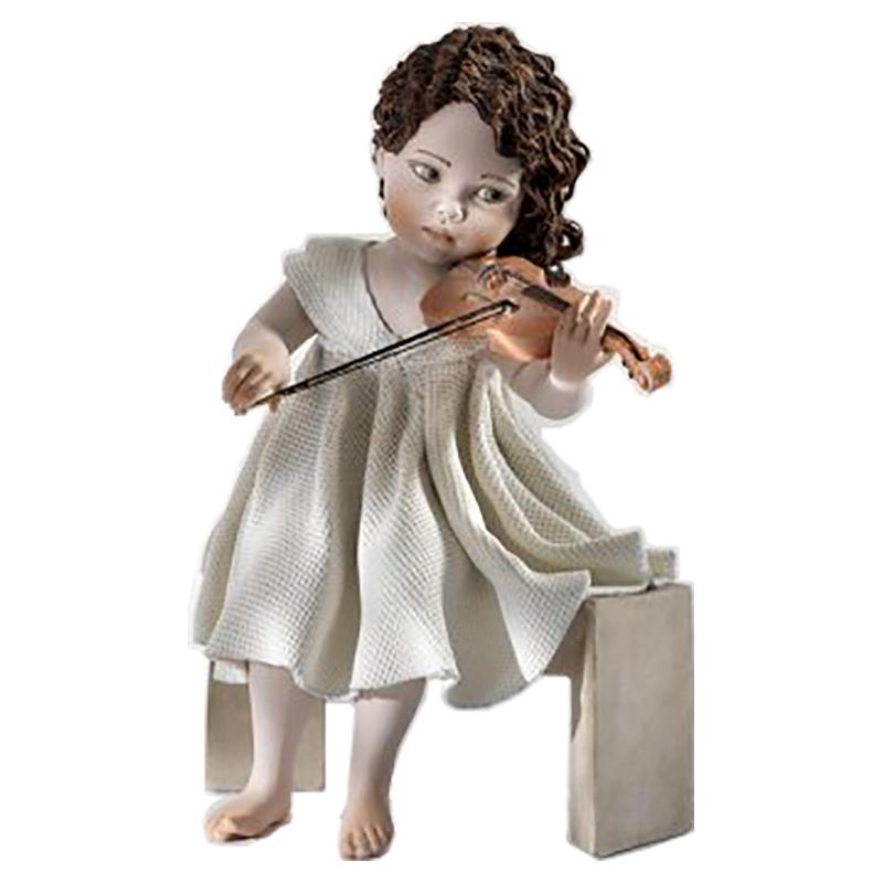 【SIBANIA/シバニア】陶器人形 Minuetto
