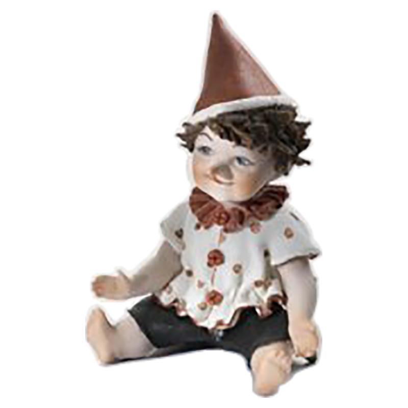 【SIBANIA/シバニア】陶器人形 Pinocchiopiccolo