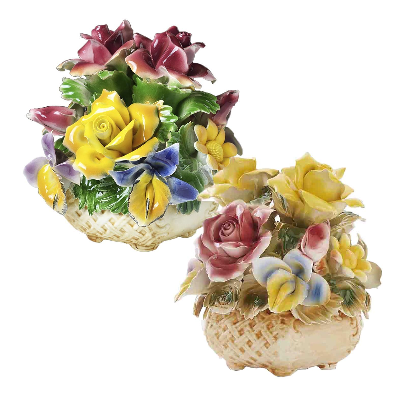 ☆大創業祭☆イタリア製陶花 ※全2種類よりお選びください