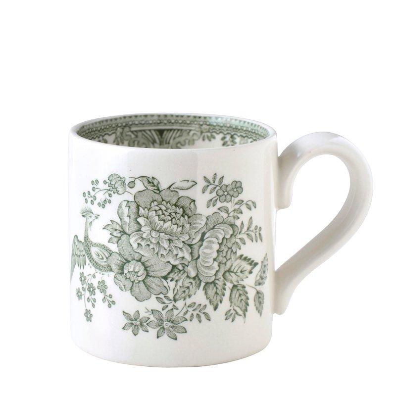 【Burleigh/バーレイ】グリーンアジアティックフェザンツ マグカップ