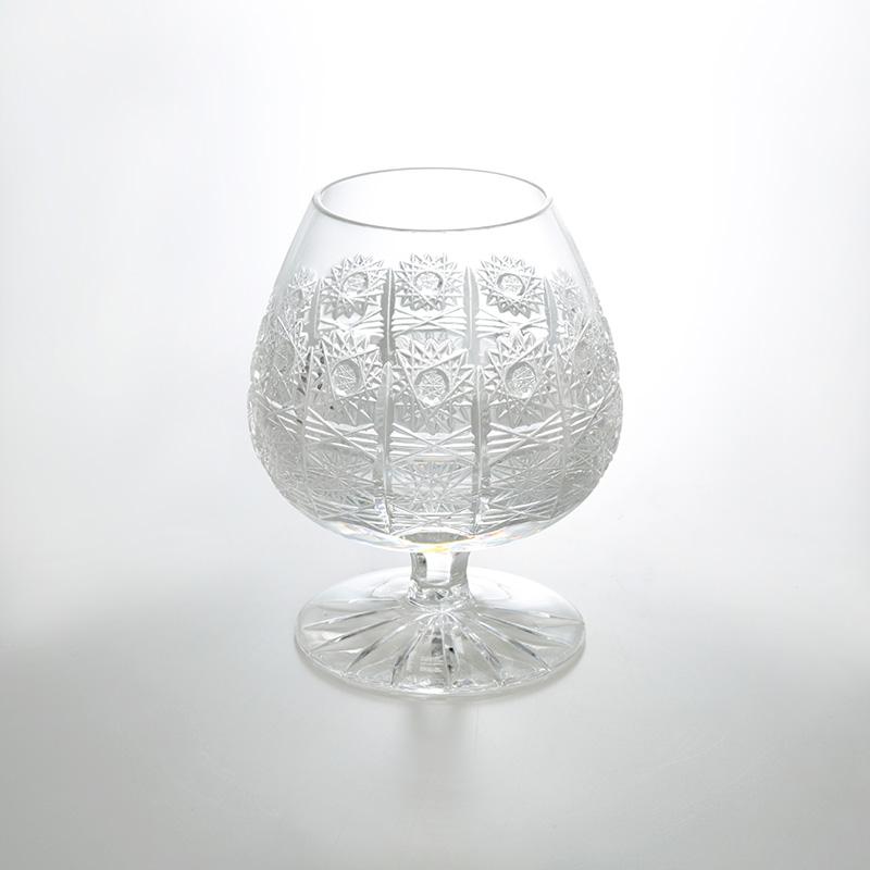 【TOM Bohemia Crystal/トム ボヘミア クリスタル】ブランデーグラス