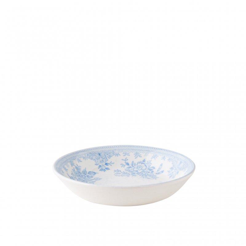 【Burleigh/バーレイ】ブルーアジアンティックフェザンツ フルーツプレート(バターパッド) 12cm