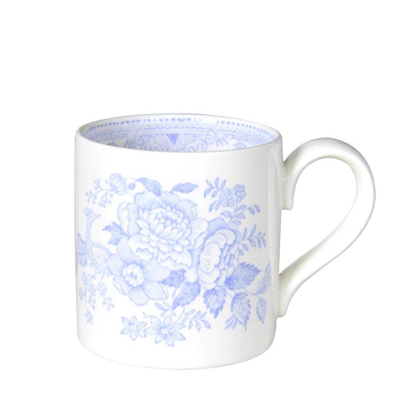 【Burleigh/バーレイ】ブルーアジアンティックフェザンツ マグカップ 284ml