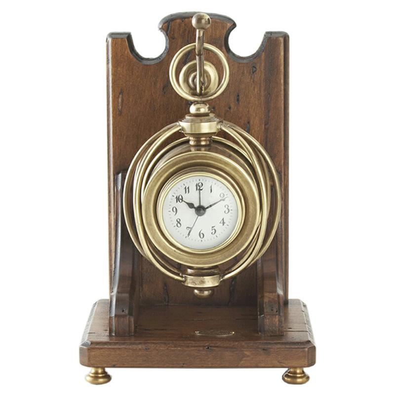 ☆基本配送料無料☆【CAPANNI/カパーニ】スタンドクロック(置き時計) 高さ23cm
